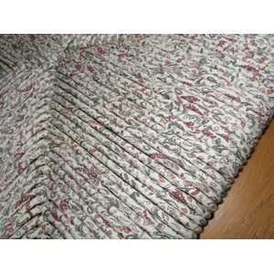 Assortiment chaises paille tissu