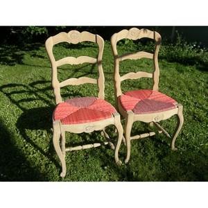 Les chaises rouges 1