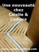 Une nouveauté chez Caielle et Cadiera