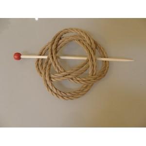 Barrette à chignon noeud