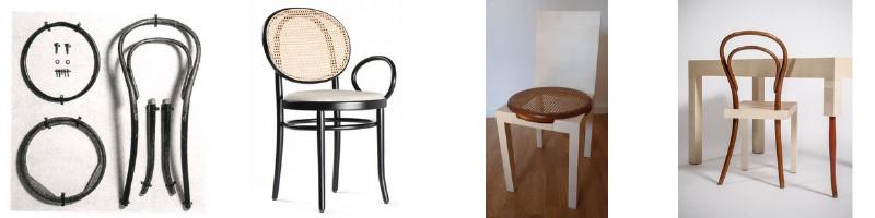 De l`art et des chaises - Chaises Thonet 1