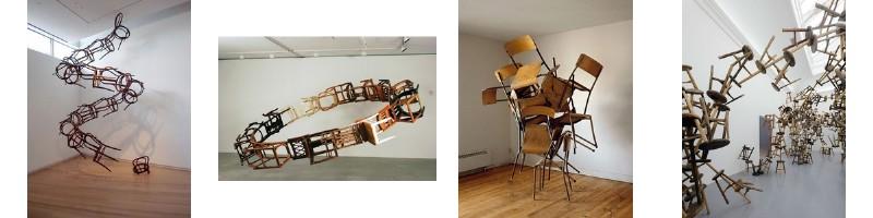 Accumulation de chaises et art 2