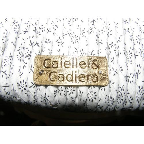 Etiquette Chaise Caielle et cadiera
