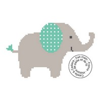 Grille gratuite - Eléphant