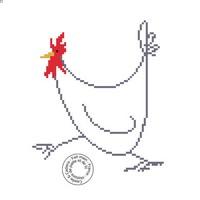 Grille gratuite - Poulette fil de fer