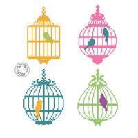 Grille gratuite - Cages aux oiseaux