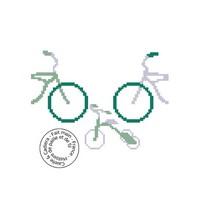 Grille gratuite - Vélo en famille