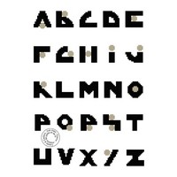 Grille gratuite - Alphabet point