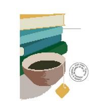 Grille gratuite - Un thé et des livres
