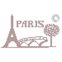 Grille gratuite - Paris toue Eiffel et pont