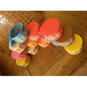 Petites boîtes PLA imprimante 3D et canne de rotin