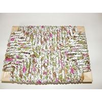 échantillon rempaillage paille tissu