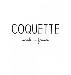 Coquette made in france